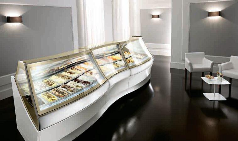 Vetrine gelato for Arredamento vetrine